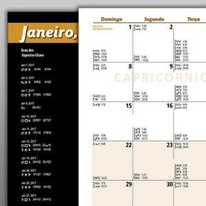Detalhe Calendário